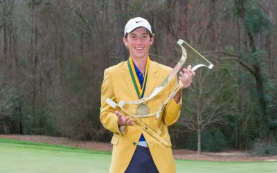 Jackson Van Paris Claims The Golden Jacket At The 10th Junior Invitational At Sage Valley Golf Club